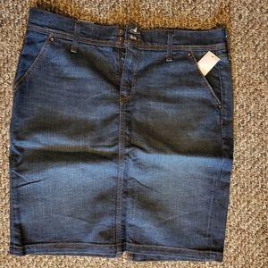 Old Navy Jean Skirt - Stretch